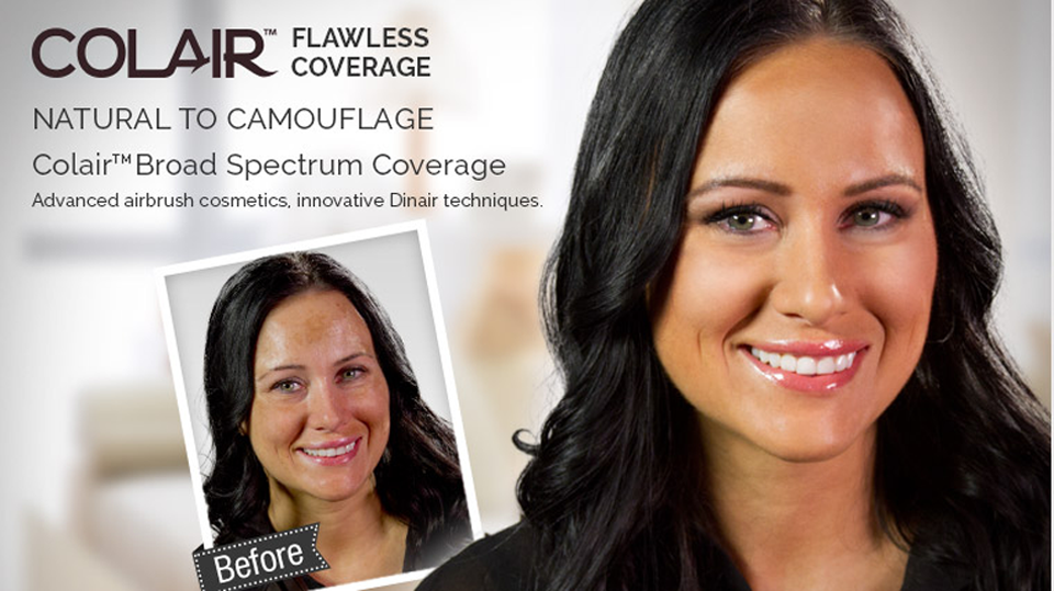Airbrush Makeup Discoloration Coverage