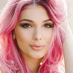 airbrush makeup hair colors